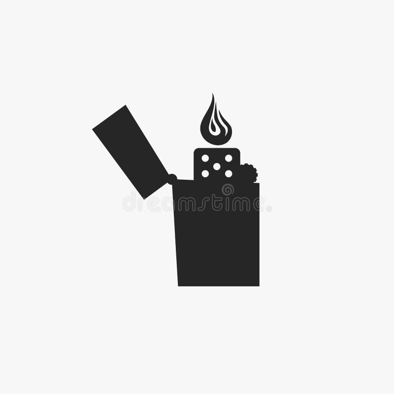 Un icono plano más ligero libre illustration
