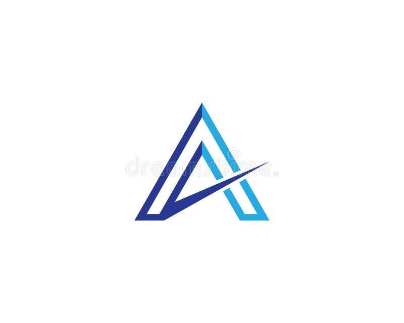 Un'illustrazione di simbolo di lettera illustrazione vettoriale