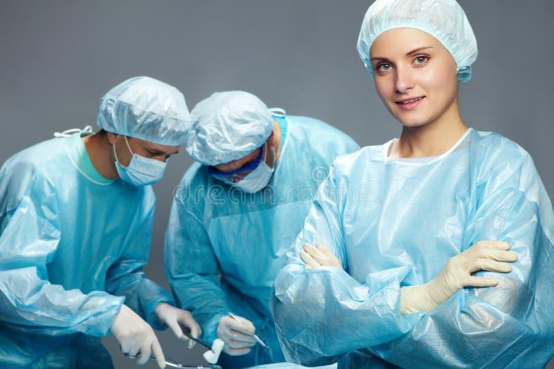 Un'infermiera fotografia stock libera da diritti