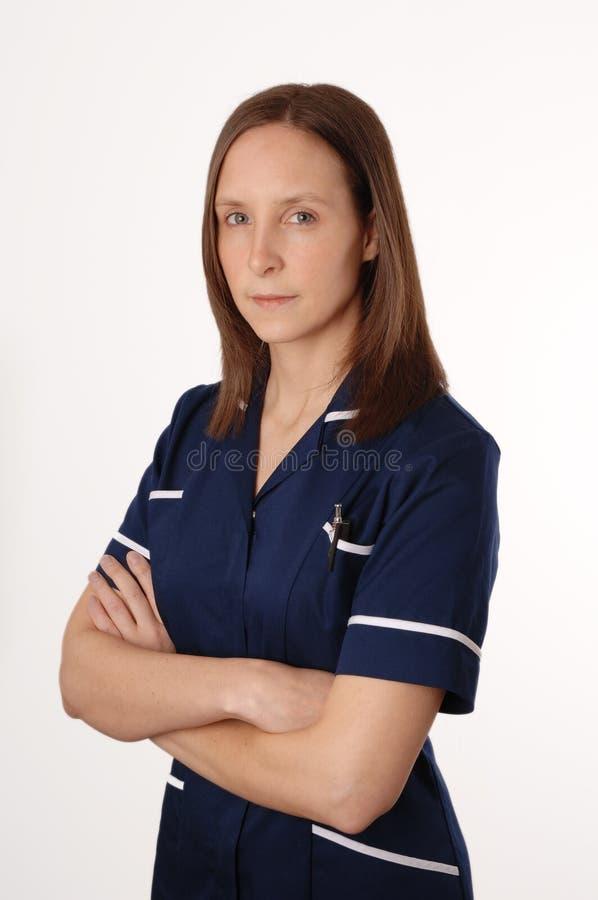 Un'infermiera britannica immagine stock libera da diritti