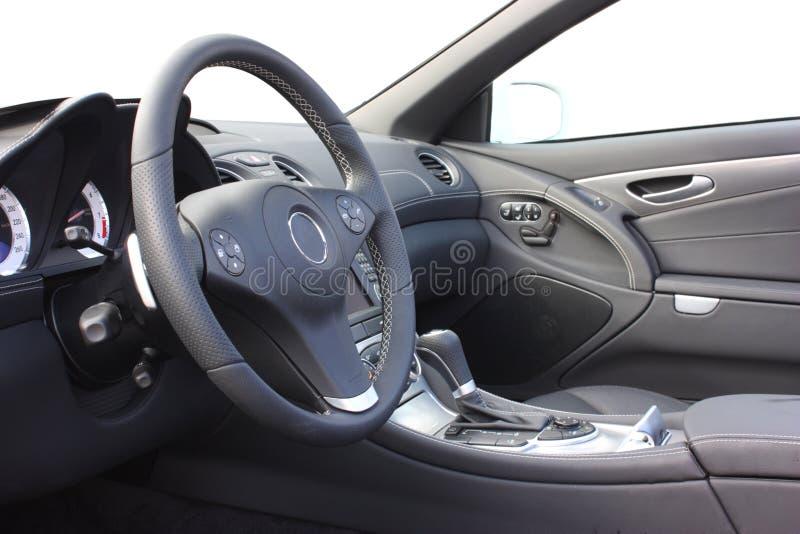 Un interiore dell'automobile fotografia stock libera da diritti
