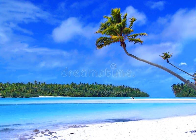Un Isola Del Piede Fotografia Stock Libera da Diritti