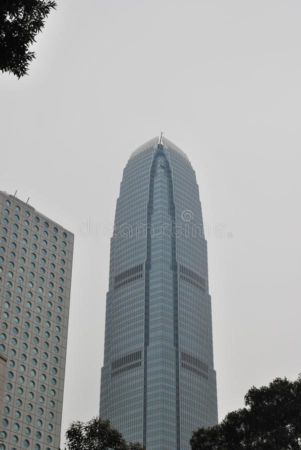 Un'isola orientale, Hong Kong fotografie stock