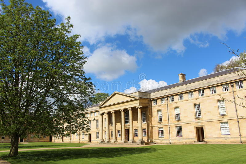 Un istituto universitario a Cambridge fotografia stock