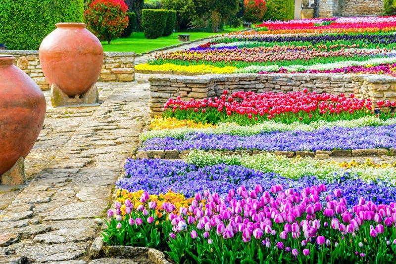 Un jardin botanique dans Balchik, Bulgarie photographie stock libre de droits