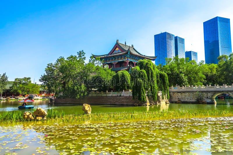 Un jardin public d'Urumqi 02 photographie stock libre de droits