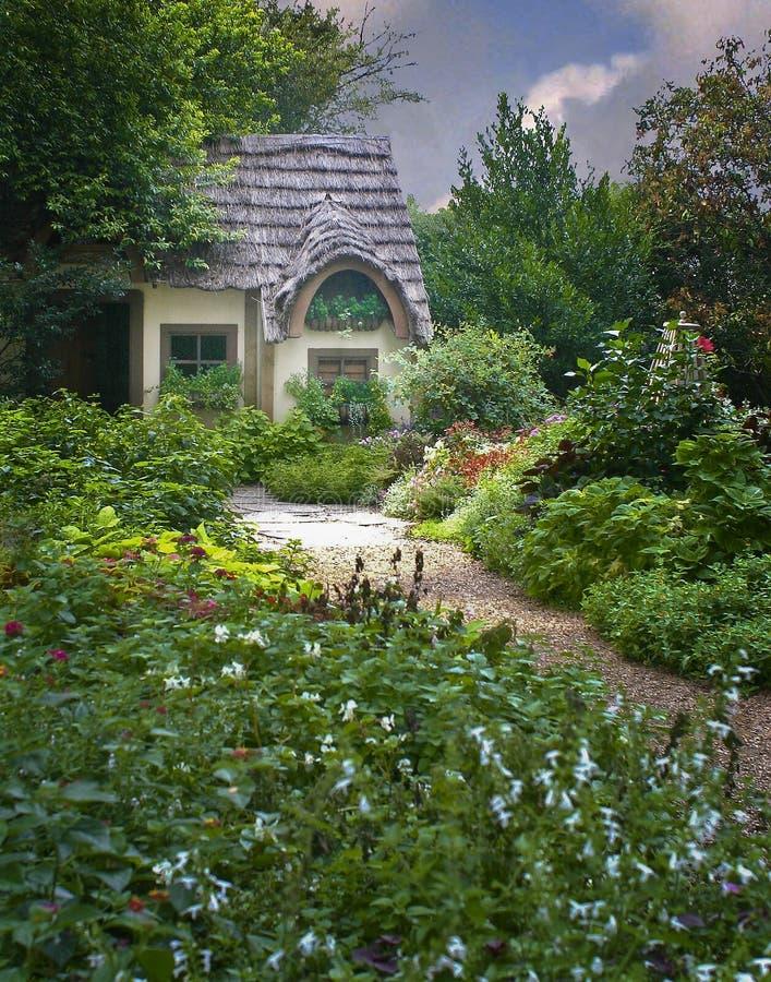 Un jardin secret image libre de droits