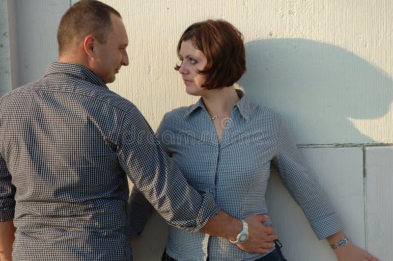 Un Jeune Couple Images libres de droits