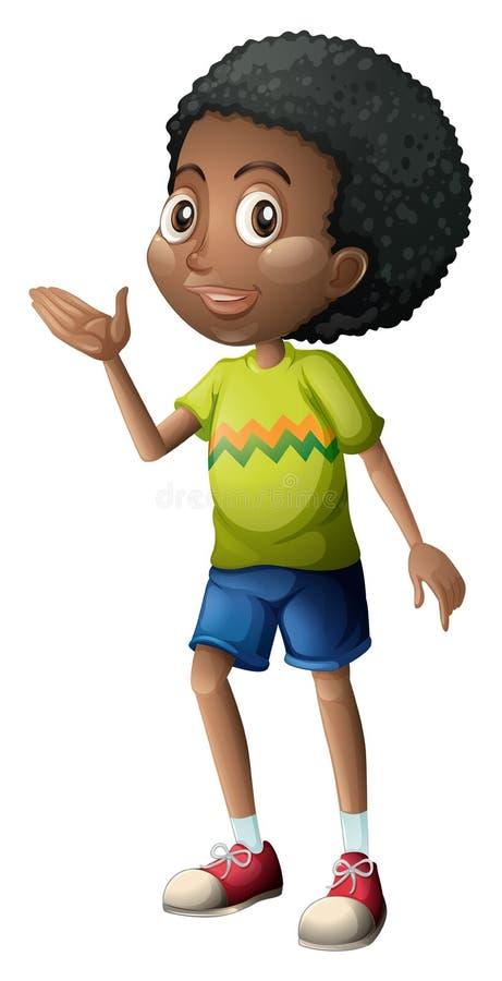 Un jeune garçon illustration de vecteur