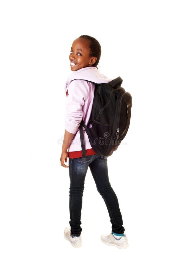 Jeune fille noire. photos stock