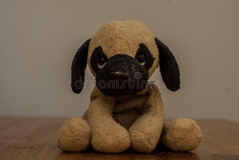Un jouet mignon de chien image stock