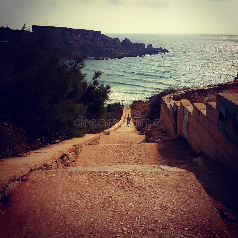 Un jour sur Malte images stock