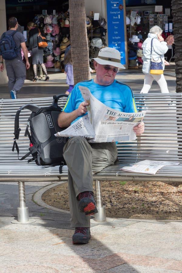 Un journal de lecture photo libre de droits