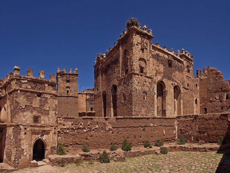Un kasbah nel Marocco fotografie stock