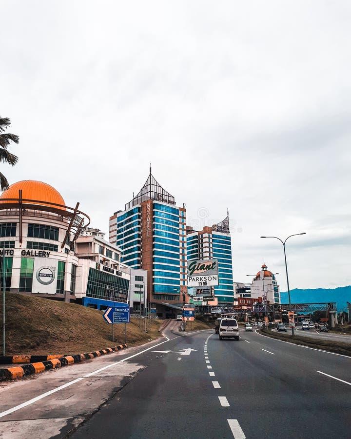 Un kinablau du Bornéo Kota photographie stock