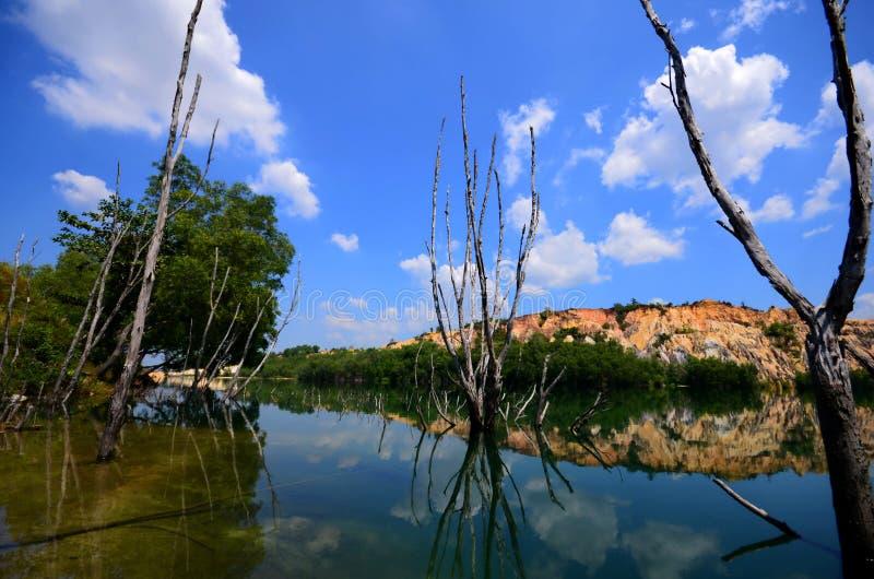 Un lac image libre de droits