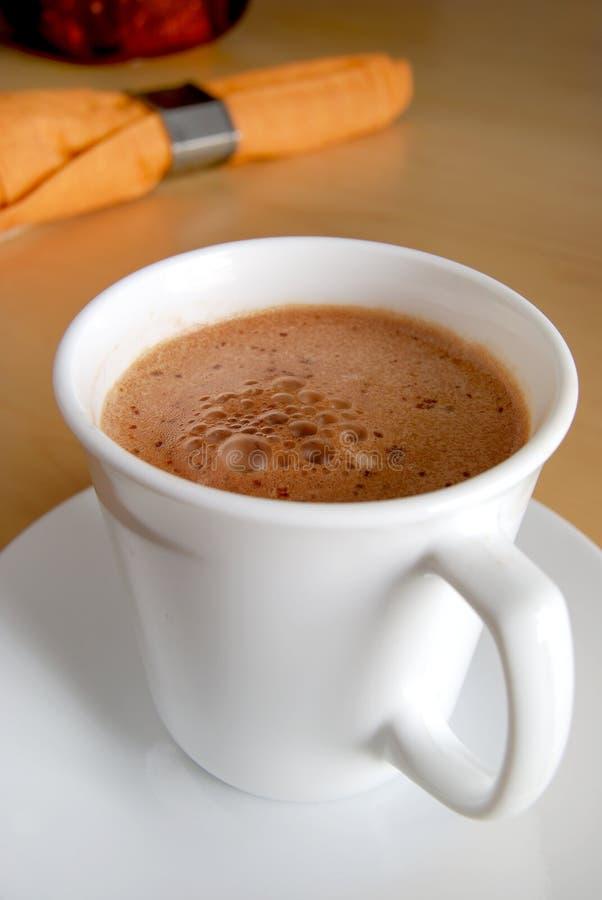 Un latte photo libre de droits