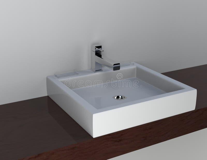 Un lavabo imagenes de archivo