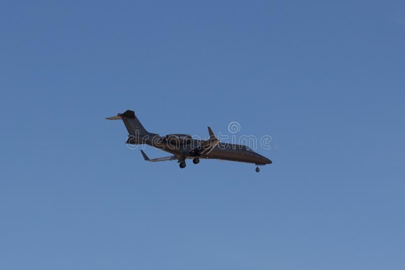 Un Learjet 45 immagini stock