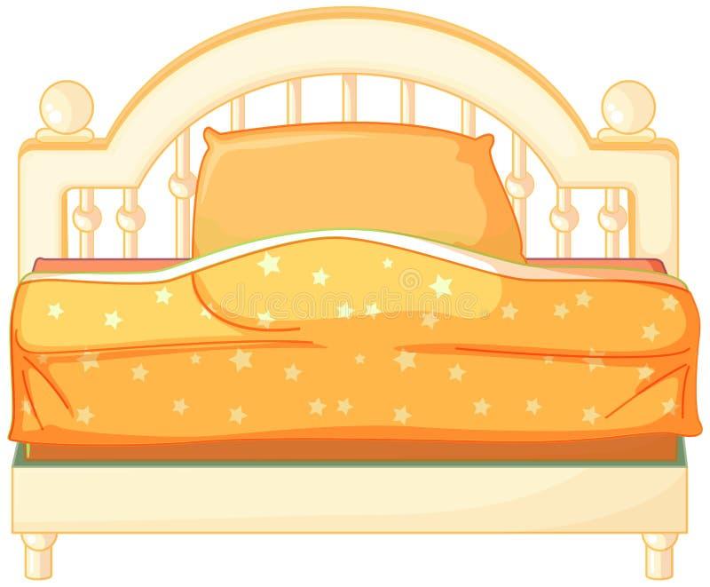 Un letto graduato re illustrazione vettoriale