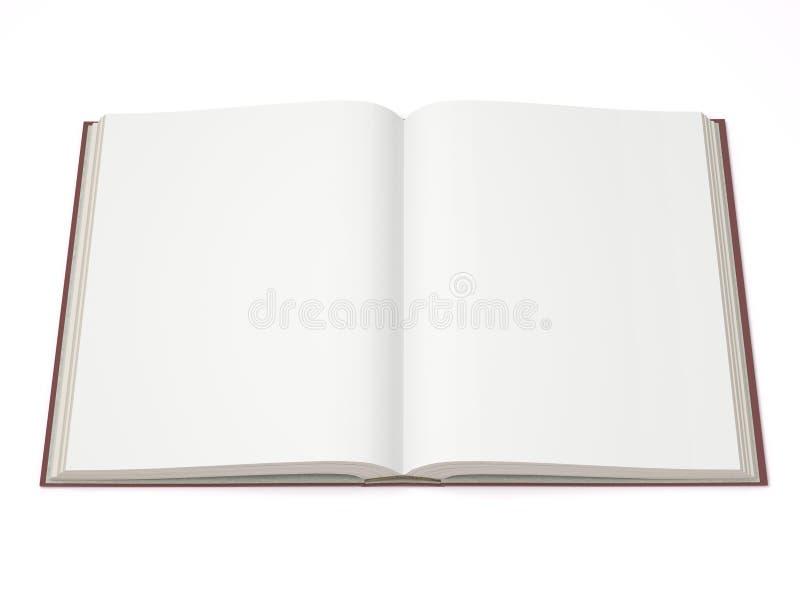 Un libro aperto immagini stock libere da diritti