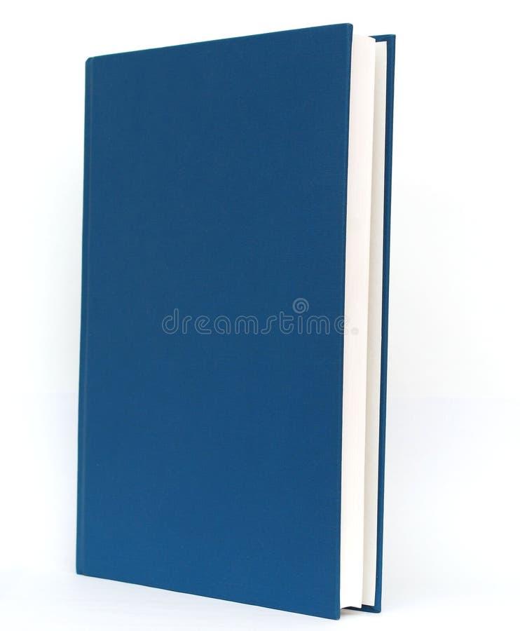 Un libro blu immagini stock