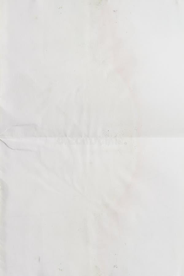 Un livre blanc modifié photo libre de droits