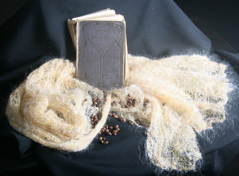 Un livre sur le châle photos libres de droits