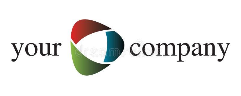 Un logo de compagnie illustration de vecteur
