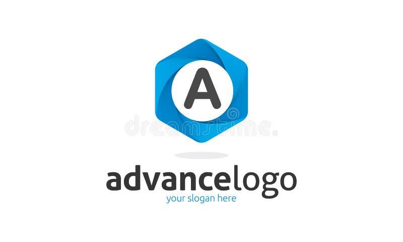 Un logo della lettera illustrazione vettoriale
