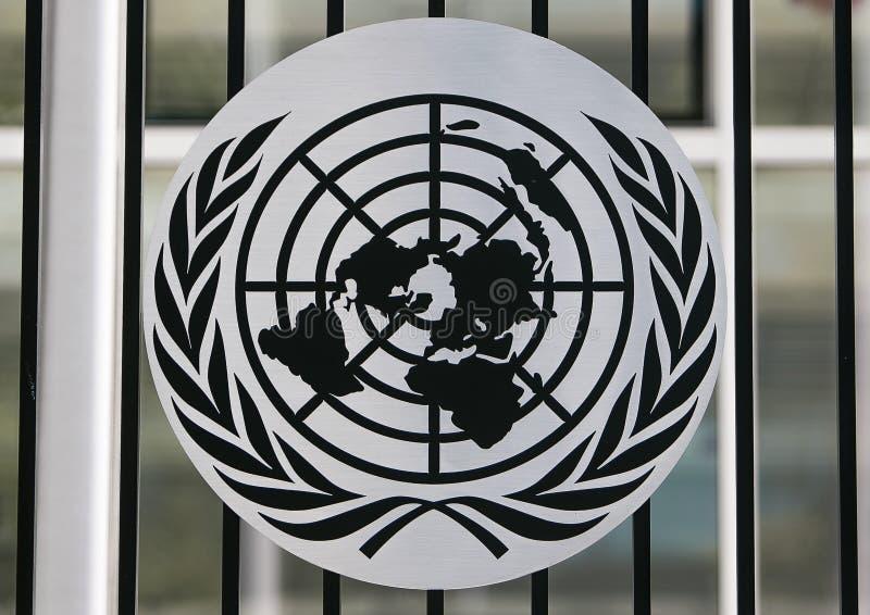 UN logo stock images