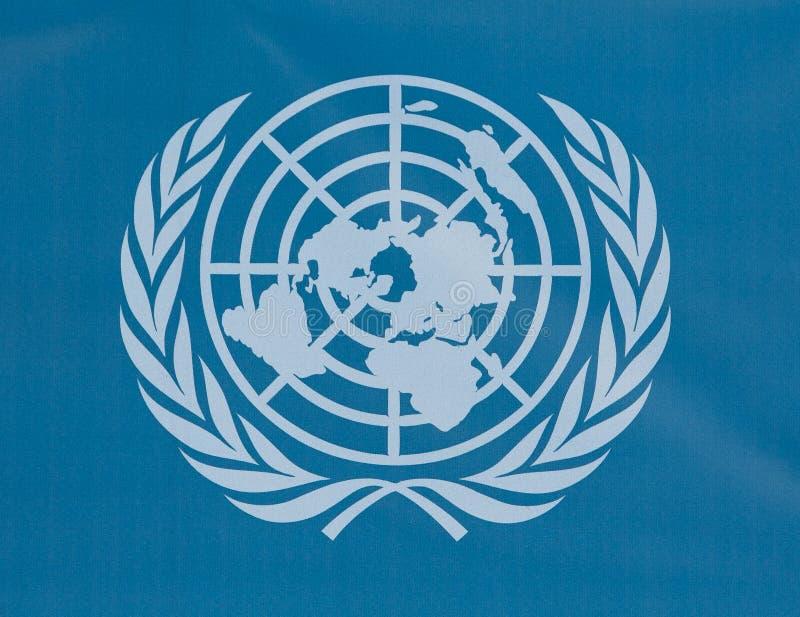 UN logo stock image