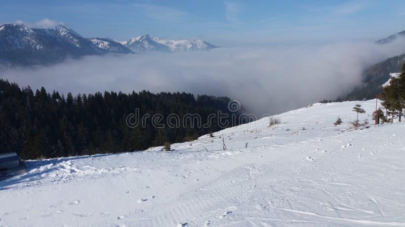 Un lugar en una montaña fotos de archivo