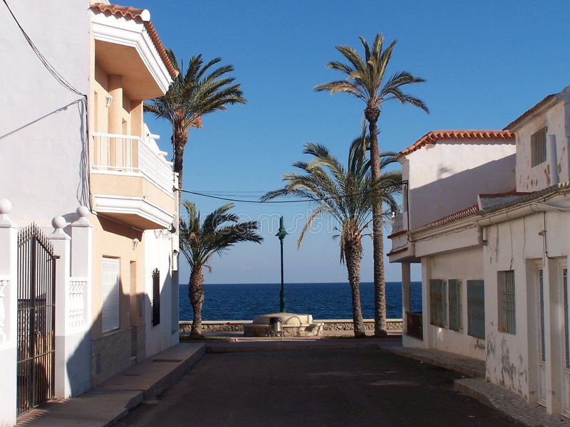 Un lugar reservado en España fotos de archivo