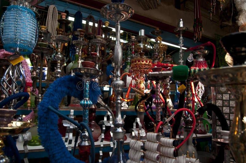 Un magasin d'antiquités dans l'aco/acre photos libres de droits