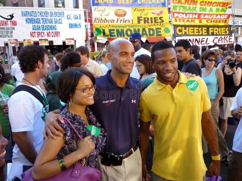 Un maire populaire photo libre de droits