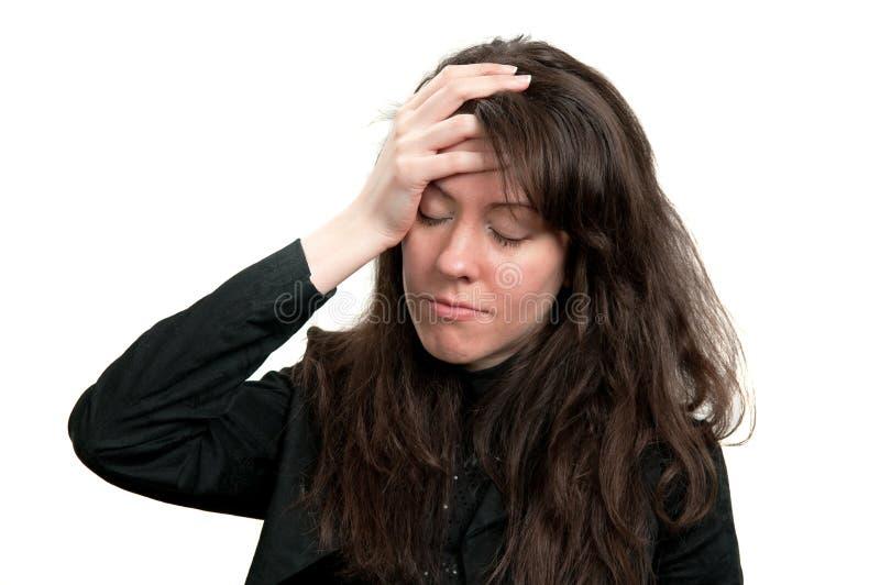 Un mal de tête photos libres de droits