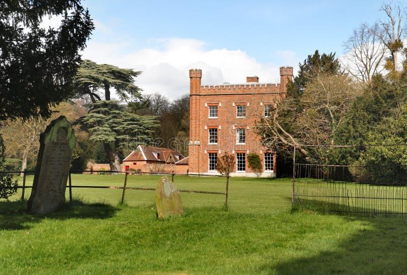 Un manoir anglais et jardins de pays image stock image for Jardin anglais histoire