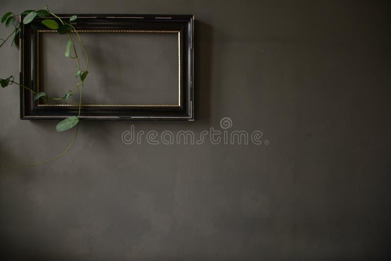 Un marco en la pared fotografía de archivo