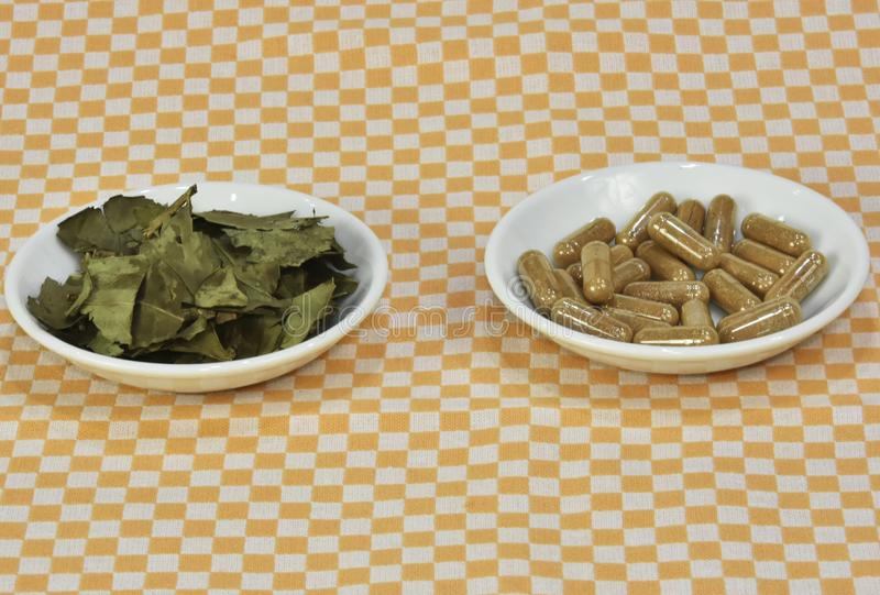 pillole di supplemento dietetico del tè verde