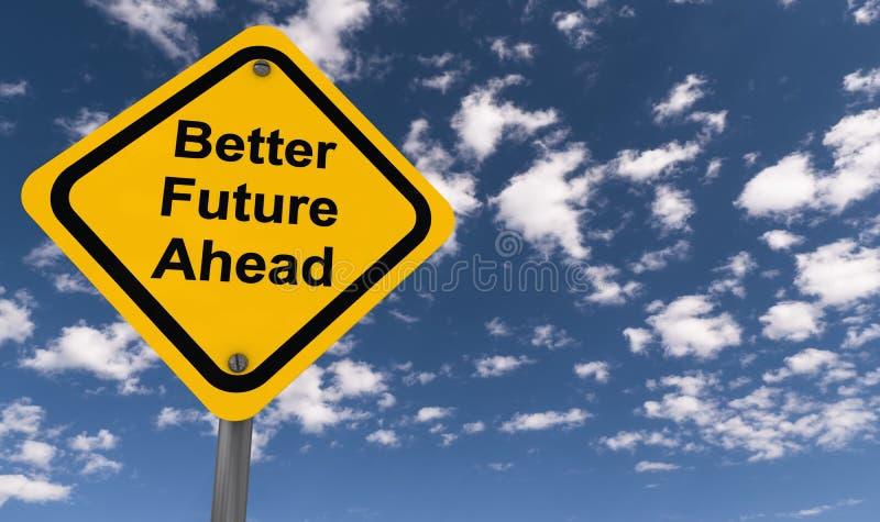 Un mejor futuro a continuación foto de archivo libre de regalías