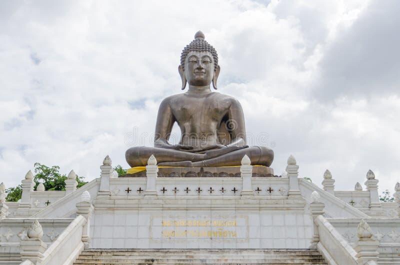 Un metal Buda de Yala foto de archivo