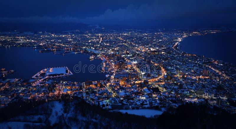 Un millón vistas nocturnas de la montaña guan kuan foto de archivo libre de regalías