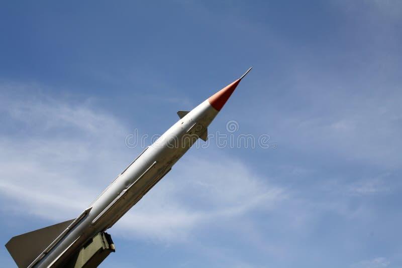 Un misil fotos de archivo libres de regalías