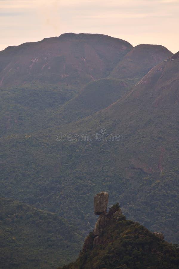 Un moai nel Brasile immagine stock