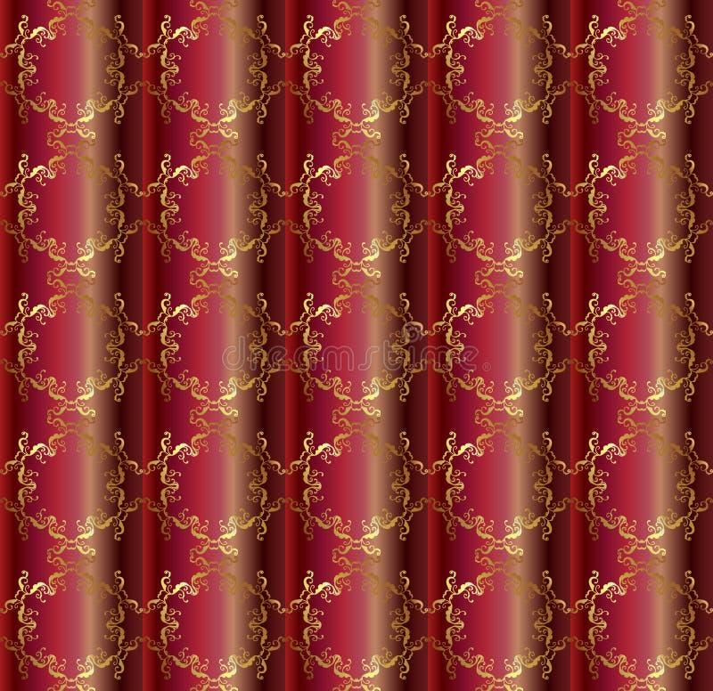 Un modelo de seda de rubíes más brillante libre illustration