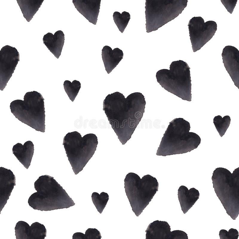 Un modelo minimalistic elegante del día del ` s de la tarjeta del día de San Valentín imagen de archivo libre de regalías
