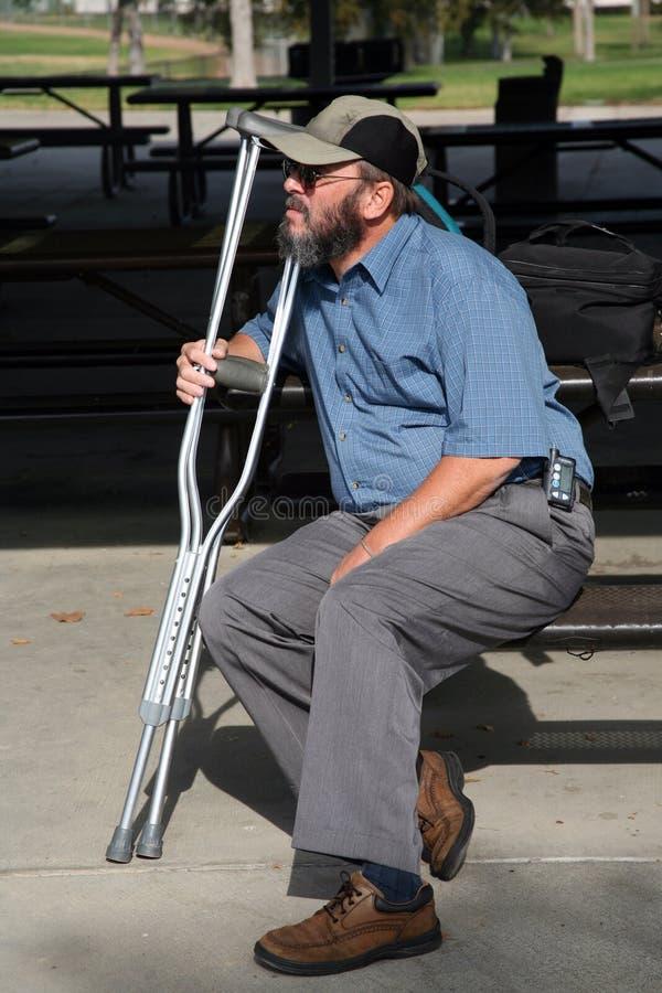 Un monsieur plus âgé 6 photo libre de droits
