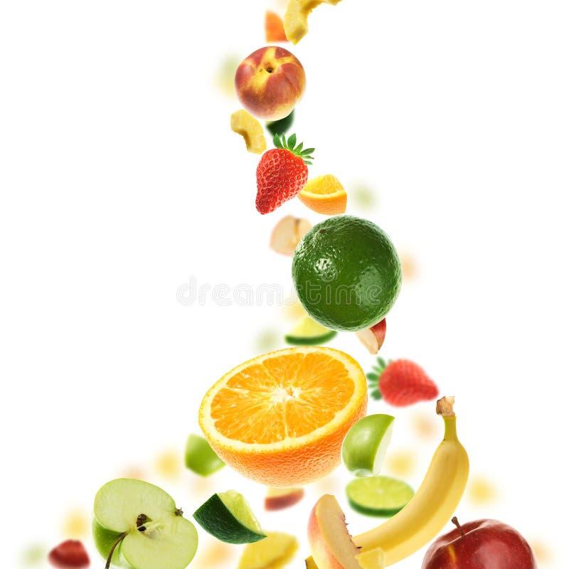 Un montón de frutas foto de archivo