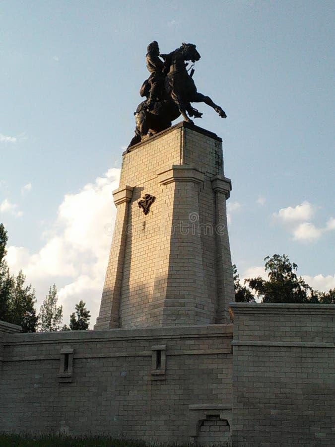 Un monument à Tatischev images libres de droits
